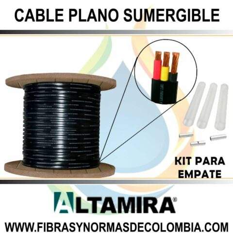 CABLE PLANO SUMERGIBLE