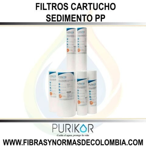 FILTROS CARTUCHO POLIPROPILENO