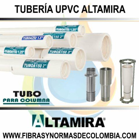 TUBERÍA UPVC ALTAMIRA